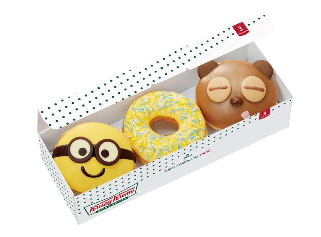 画像2: 【試食レポ】今度はミニオン!あのドーナツが初めてのコラボでとんでもなくかわいい♡