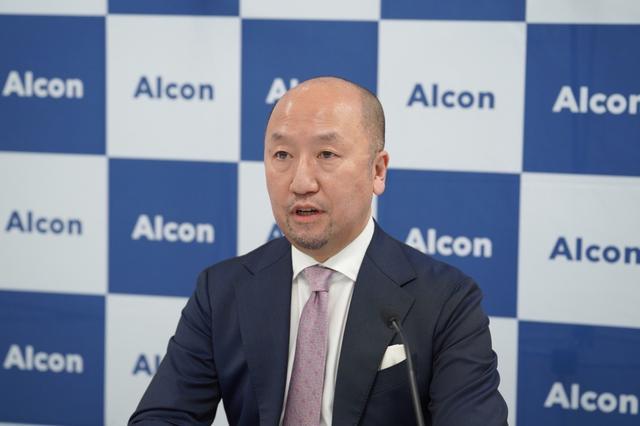 画像: 日本アルコン株式会社 ビジョンケア事業本部 プロフェッショナル・アフェアーズ部 部長 五十嵐 良広氏