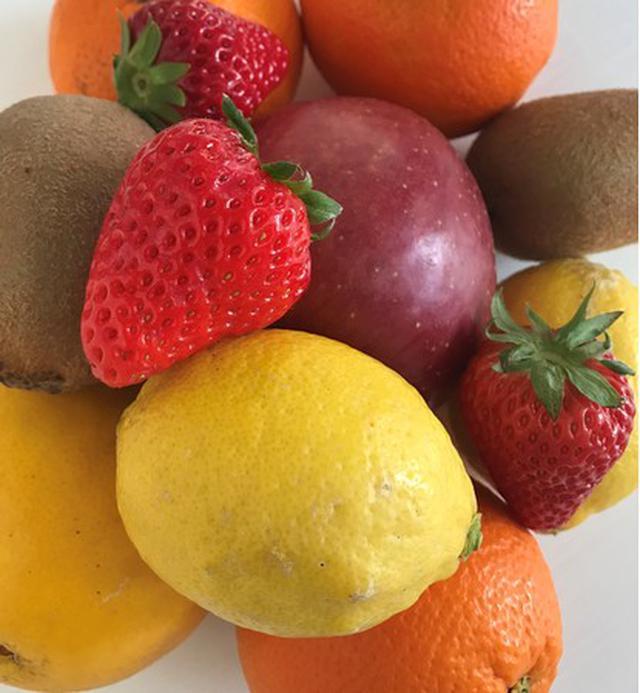 画像: 和歌山の果樹園農家のフルーツパフェ