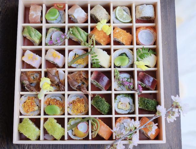 画像2: ロール寿司について