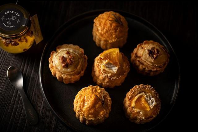 画像5: 今が旬!チーズの名店『フェルミエ』のチーズとCHAVATYのスコーンを組み合わせた上品な味わいが広がる大人のスコーン登場