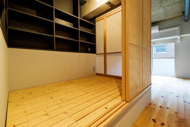 画像: ▲Nest:籠り部屋のあるお部屋 篭り部屋は、作業部屋として集中したり、寝室としても活用できます。