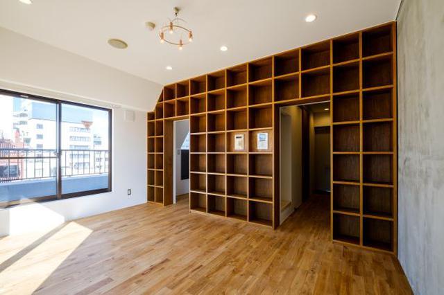 画像: ▲Hondana:読書に没頭できる 本棚としての機能だけではなく、収納としても使え、自分のスタイルを思う存分魅せることができる空間です。