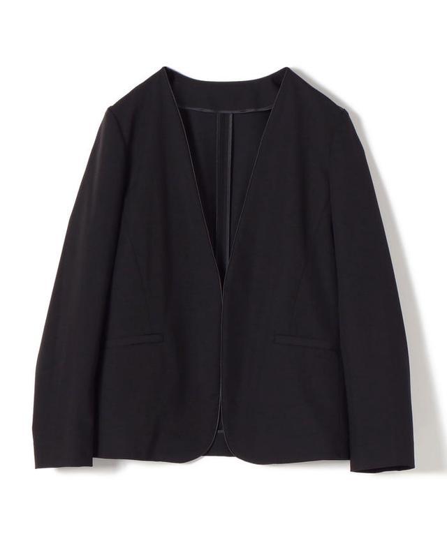 画像: 【セール】ウォッシャブルノーラペルジャケット(503199391) | シップス ウィメン(SHIPS WOMEN) - MAGASEEK