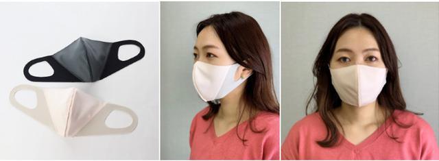 画像3: メイクの技術を応用、フェイスラインに影をつくり小顔に見せる夏用マスク新発売!