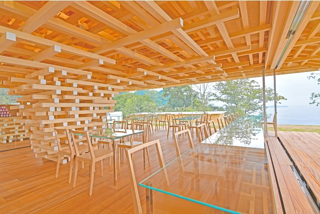 画像2: 隈研吾氏設計のカフェ『COEDA HOUSE』