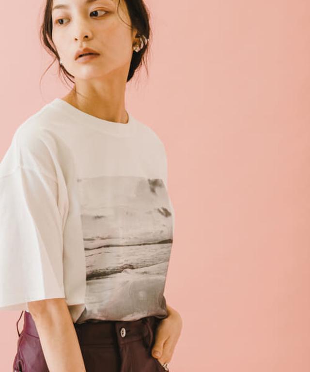 画像: naturaglacé×SENSE OF PLACE 【別注】ナチュラグラッセプリントTシャツ[AA15-21L130]|URBAN RESEARCH公式ファッション通販