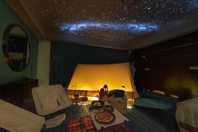 画像2: ■星空キャンプルーム・プラン(1日3部屋限定)