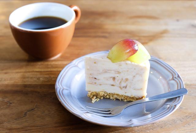 画像: 「裏旬」バイオレットキングのレアチーズケーキ