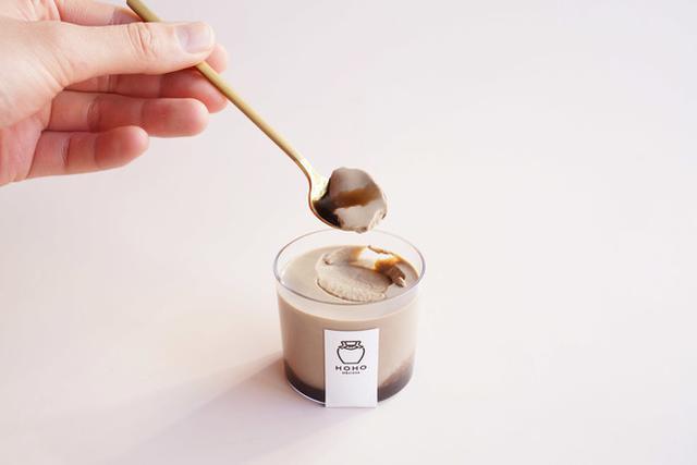 画像3: 焙じ茶パンナコッタ×焙じ茶蜜 溢れる香りととろける食感
