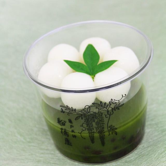 画像: 抹茶好きにはたまらない!「宇治抹茶の白玉しるこ」も期間限定で発売