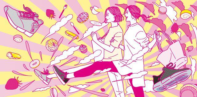 画像1: 母の日企画「ウォーキングすればスイーツ食べても平気でしょ?」キャンペーン