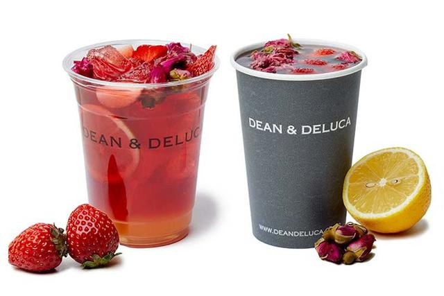 画像2: 【DEAN & DELUCA】シーズナルドリンク「香り華やぐ、フラワーフルーツティー」