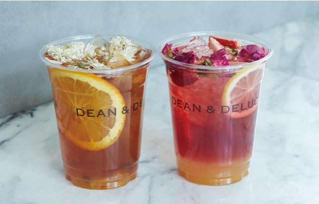 画像1: 【DEAN & DELUCA】シーズナルドリンク「香り華やぐ、フラワーフルーツティー」