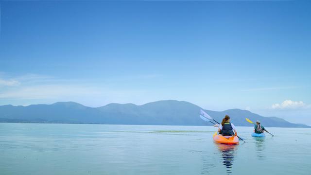 画像1: 【琵琶湖マリオットホテル】宿泊プラン「サイクリング&カヤックで琵琶湖の自然を探求」