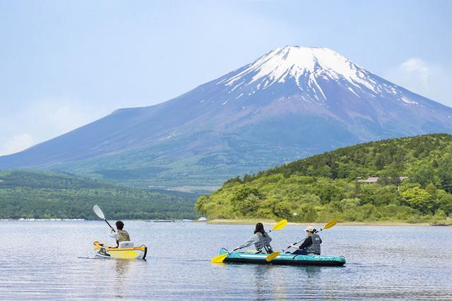 画像1: 【富士マリオットホテル山中湖】1日1組限定 プライベートカヌー体験で朝日に煌めく湖面から富士山の絶景を味わう宿泊プラン「Early Bird Experience」