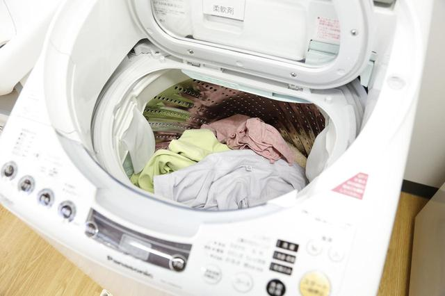 画像: (〇)洗濯機には余裕をもって