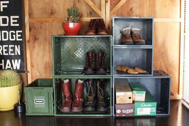 画像: 靴箱にも代用できる!