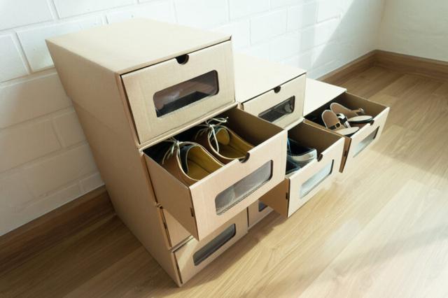 画像: 【靴箱収納】便利グッズを使ったアイディア