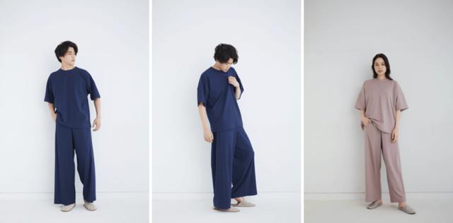 画像: Style 3 - 体をゆったりと包むTシャツ