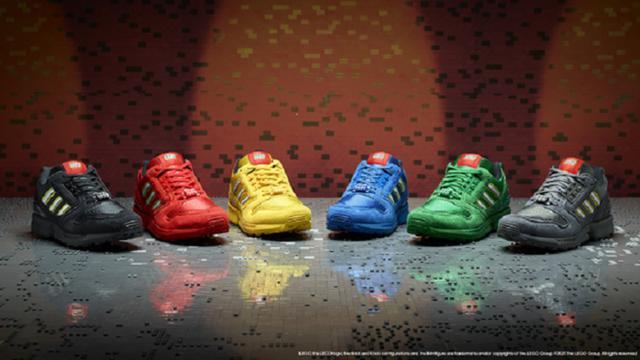 画像1: adidas OriginalsとレゴグループがZX 8000 LEGOコレクションを発表