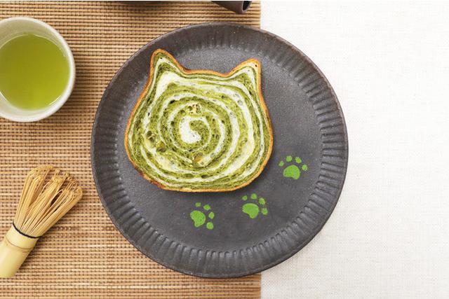 画像: 【5月限定】ねこの形の高級食パン専門店「ねこねこ食パン」より期間限定フレーバー「ねこねこ食パン 抹茶」が登場!