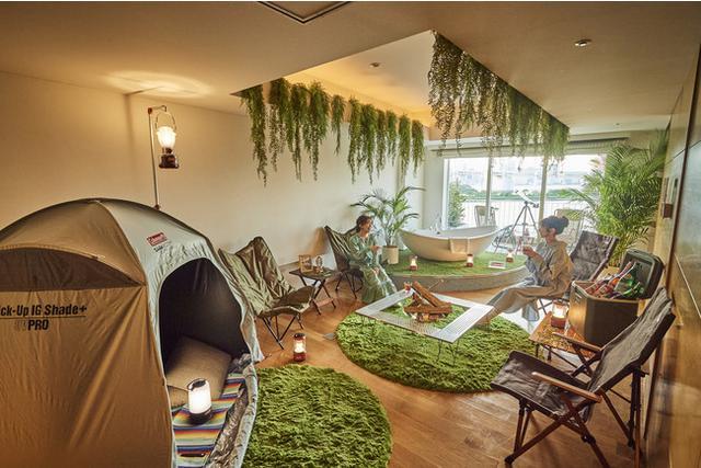 画像: 【ヒルトン東京お台場】まるで秘密基地!? ますます人気高まるアウトドアを都心のホテルで新感覚体験!