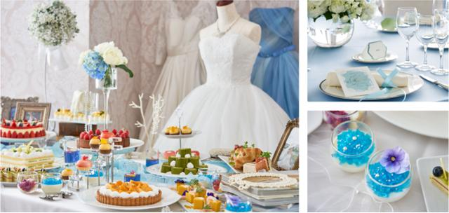 画像: プリンセスを夢見る女の子が憧れる、可愛いWeddingの世界観を表現したデザートビュッフェ「Girl's Sweets Wedding」