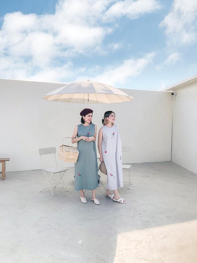 画像: Poppy Field Dressドレス - green 绿色 - Katji-cozytime  - ワンピース | Pinkoi