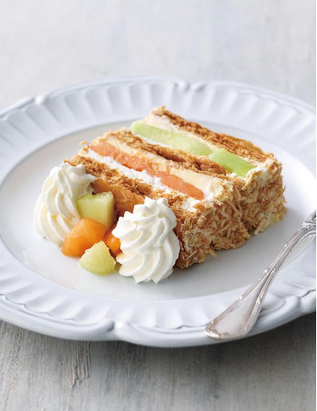 """画像2: メロン好き必見!パフェ、パイ、タルト、ロールケーキが、""""メロンづくし""""に"""