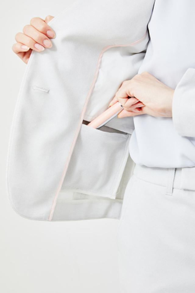 画像4: 働く女性の声を取り入れた夏仕様のセットアップスーツが新発売