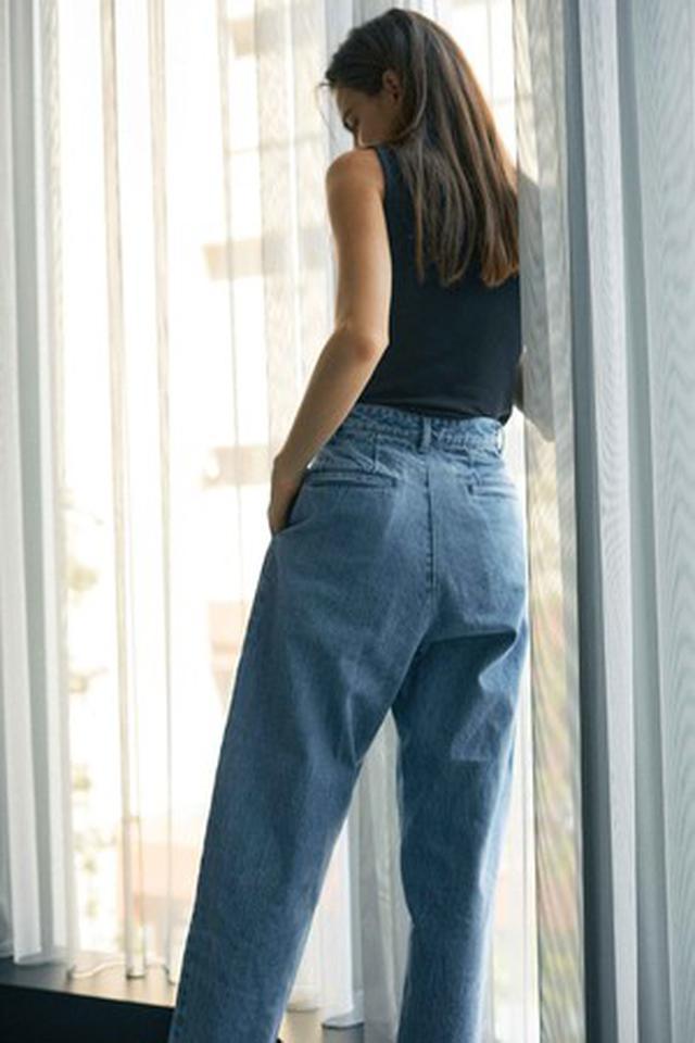 """画像5: """"着た人が楽しくなる""""をテーマにシルエットにこだわったデニムとメッセージロゴTシャツの4型を発売"""