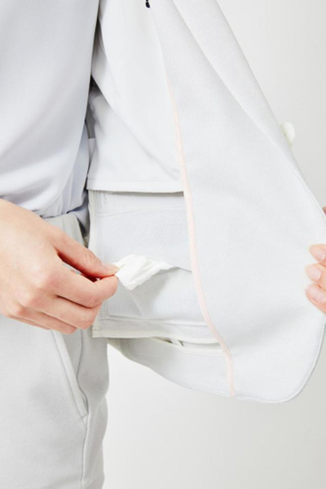 画像3: 働く女性の声を取り入れた夏仕様のセットアップスーツが新発売