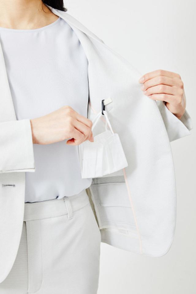 画像1: 働く女性の声を取り入れた夏仕様のセットアップスーツが新発売