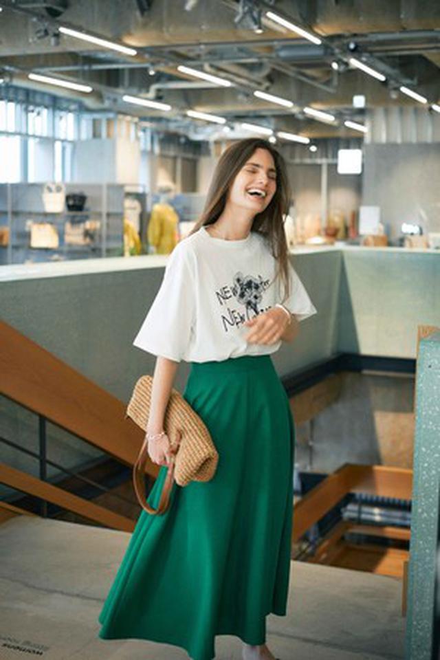 """画像7: """"着た人が楽しくなる""""をテーマにシルエットにこだわったデニムとメッセージロゴTシャツの4型を発売"""