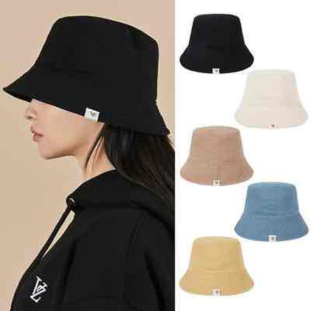 画像: Monogram Label Pigment Bucket Hat