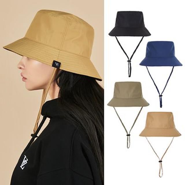 画像: [Qoo10] * 生活防水可能 * [VARZAR] Waterproof String Bucket Hat