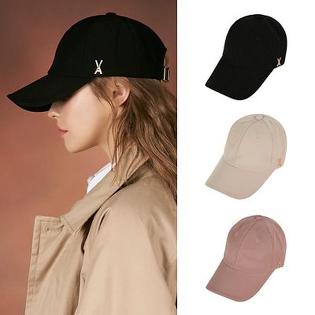 画像: [Qoo10] 韓国人気ブランド [VARZAR] Gold stud over fit ball cap
