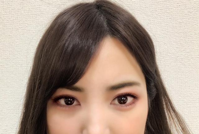 画像: タイの女優さんを意識して直線的な太眉に仕上げてみました!