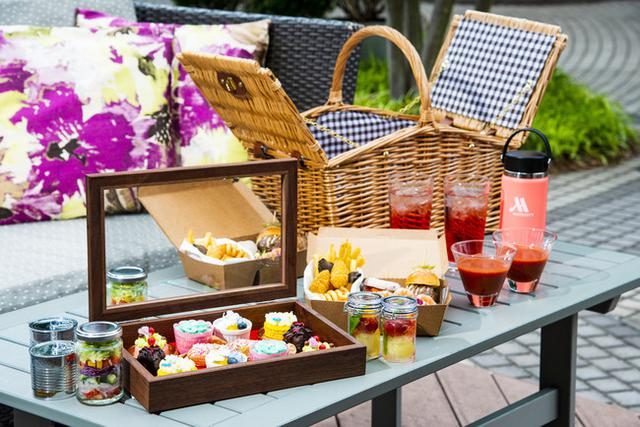 画像1: 【東京マリオットホテル】オープンエアのテラスで楽しむアメリカンな贅沢ピクニック「グランピクニック」