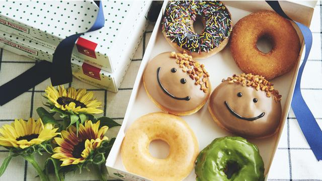 画像: パパの優しい笑顔をイメージしたスマイルドーナツが登場『パパ カスタード』『パパ ボックス』