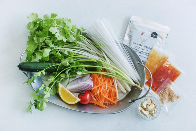 """画像: """"レストランのような彩り豊かなサラダを食卓に""""コンセプトに、手軽に作れるサラダレシピを共同開発"""