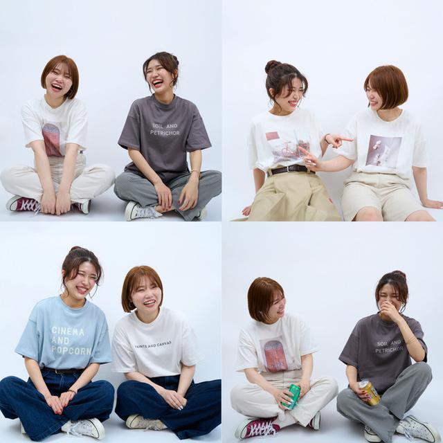 画像9: インテリア雑貨ブランド salut! にTシャツが新登場!