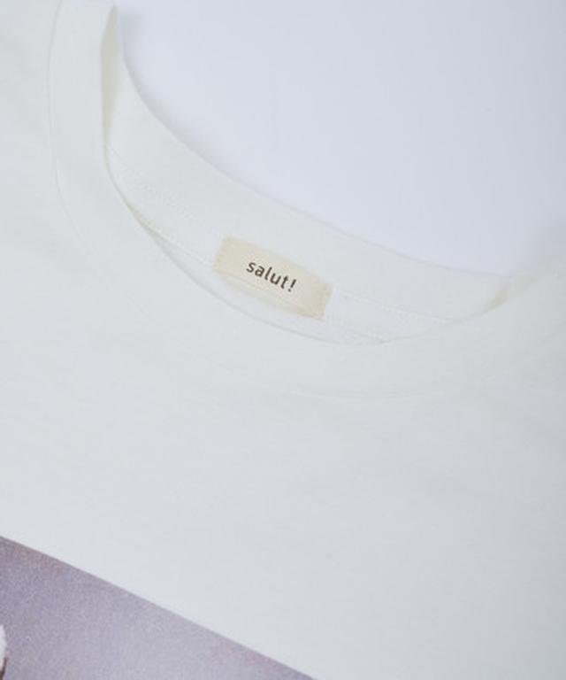 画像2: インテリア雑貨ブランド salut! にTシャツが新登場!