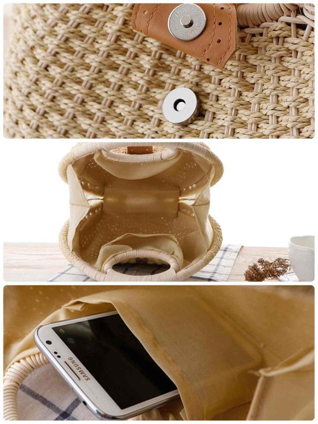 画像2: サークルハンドバッグ