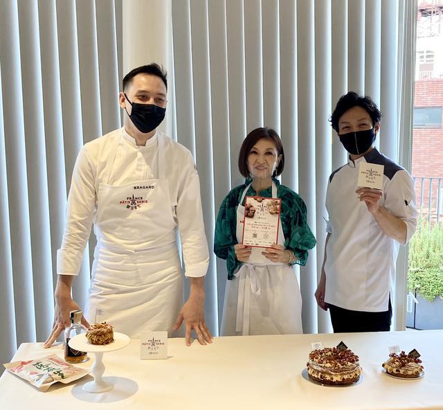 画像: オベルソンパティシエ、大森由紀子さん、遠藤パティシエ