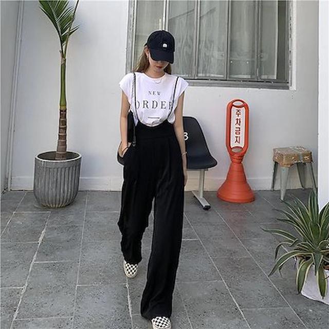 画像: [Qoo10] サロペット オールインワン : レディース服