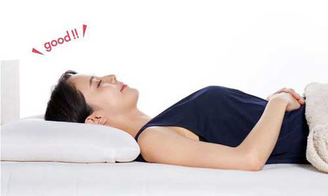 画像1: 正しい寝姿勢に、高さを調整できる枕、ロフテーから初登場
