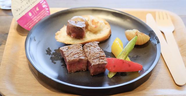画像2: ●〈Dinner〉クラッシュコーヒーモヒート/おうちキャンプステーキ&海老のアヒージョ