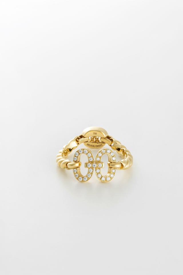 画像: H RING YG WITH DIAMOND